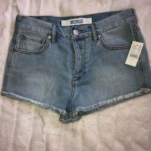 Brandy Melville jean shorts NWT